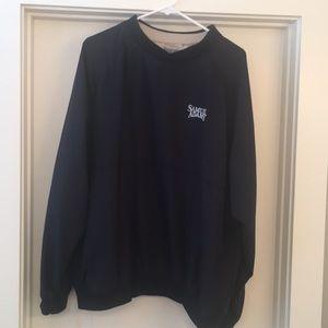 Other - Men's L golf pullover ⛳️ Sam Adams Logo Navy